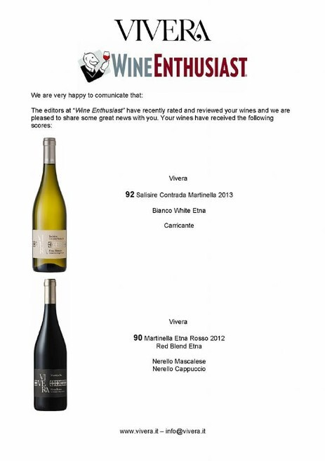 Vivera Wine enthusiast